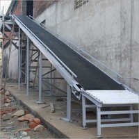 Inclined Loading Unloading Belt Conveyor