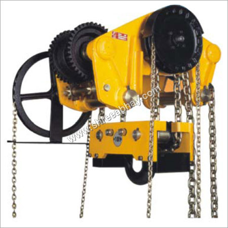 Spur Gear Chain Pulley Block