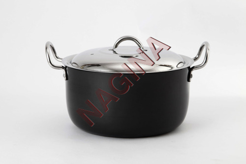 Hard Anodised stockpot