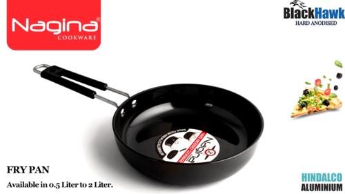 Hard anodised fry pan