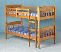 bank bedds wooden