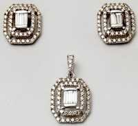 exclusive collection of diamond earring pandant