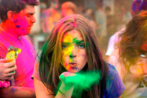 Holi Festival Colors
