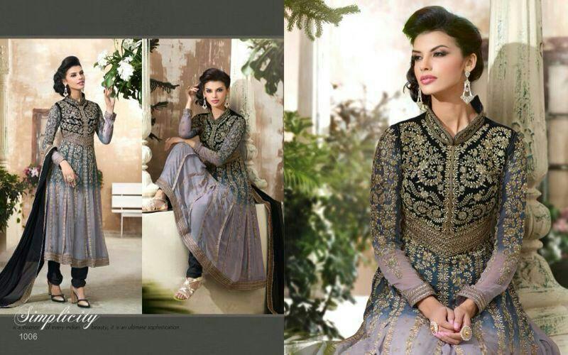 Heavy designer Anarkali