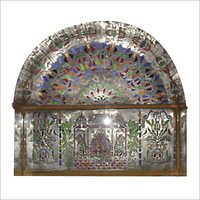 Designer Colour Stain Glass Work