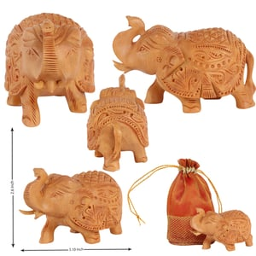 Elephant Fine Carved