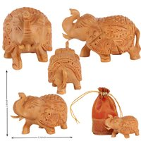 Elephant Fine Carved