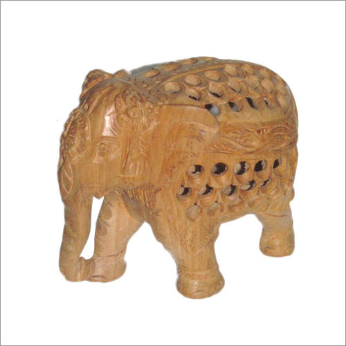 Under Cut & Carved Elephant