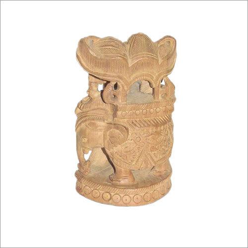 Elephant With Rider (Ambawarhi)
