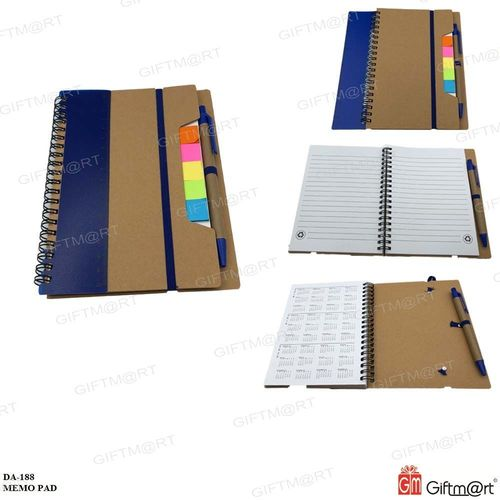 Memo Book with Sticky Notes