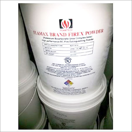 Fire Fighting Dry Chemical Powders