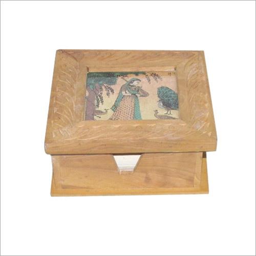 Slip Pad Holder with Gem Stone Painting