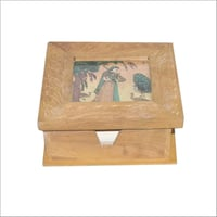 Slip Pad Holder with Gem Stone Painting