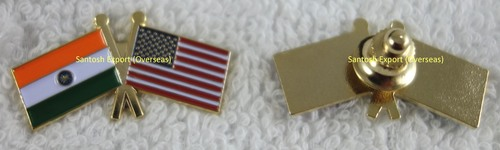 Country Friendship Flag Pin