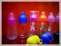 OEM High Quality Silicone Baby Feeding Bottles
