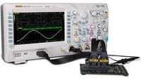 4ch. DSO with 100MHz,4GSa/s with 16ch. Logic Analyzer