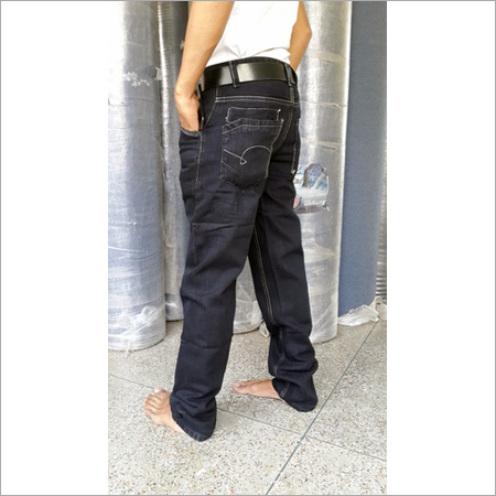 Cotton Denim Slim Semi Narrow