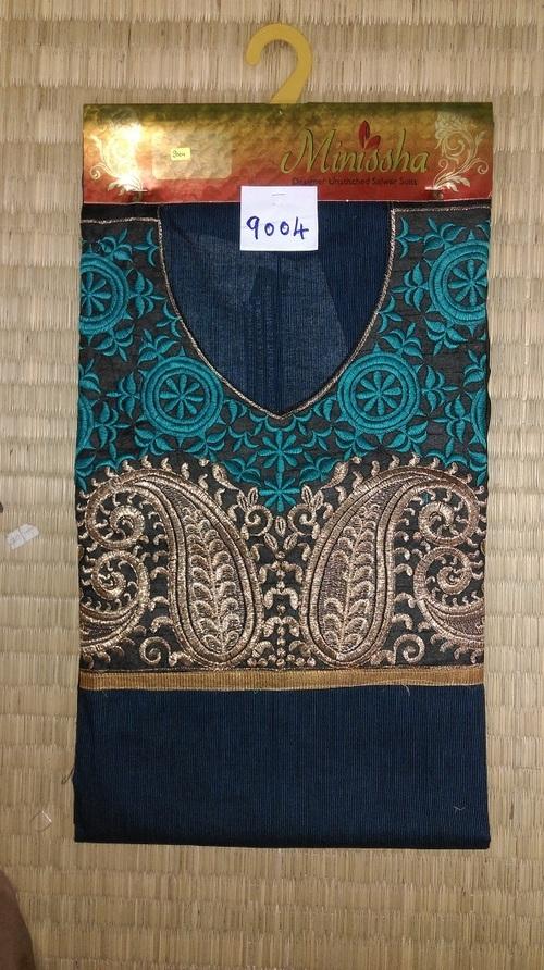 Semi Stitch Dress Material