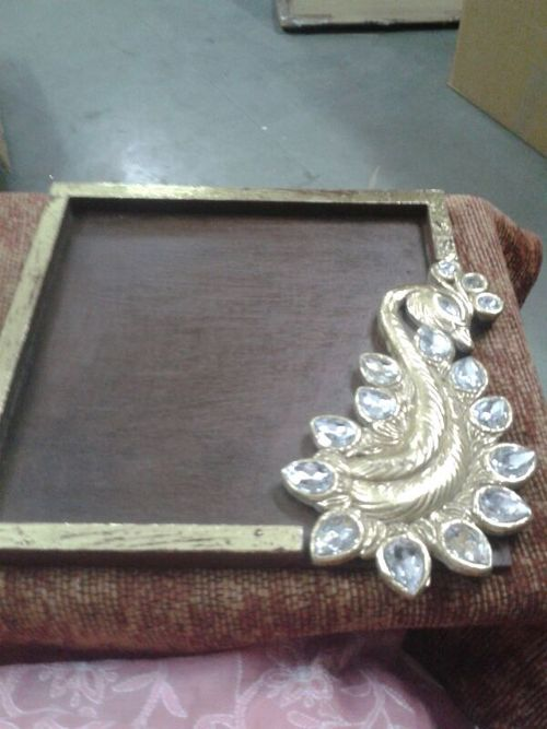 Crafted Peacock Frame