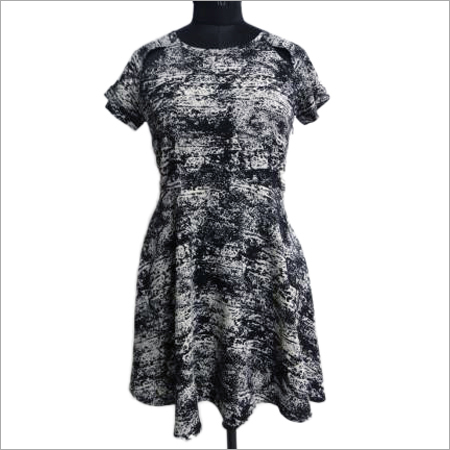 Polyester Crepe Dress
