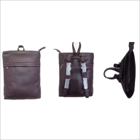 Leather Back Packs
