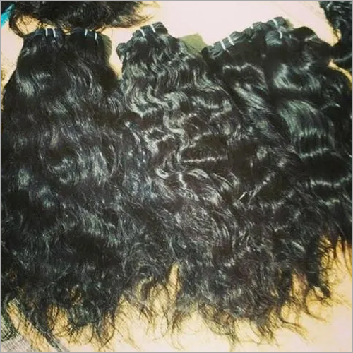 MACHINE WEFT CURLY HAIR