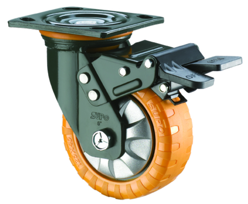 Polyurethane Wheel With C.I.  Core