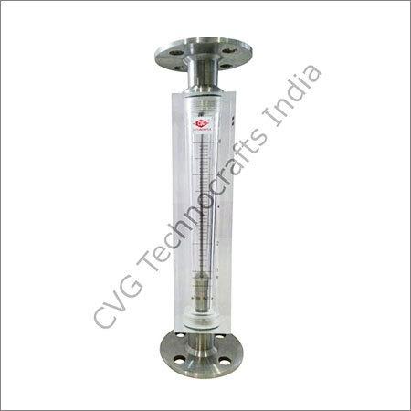 Acrylic Body Rotameter Flange End