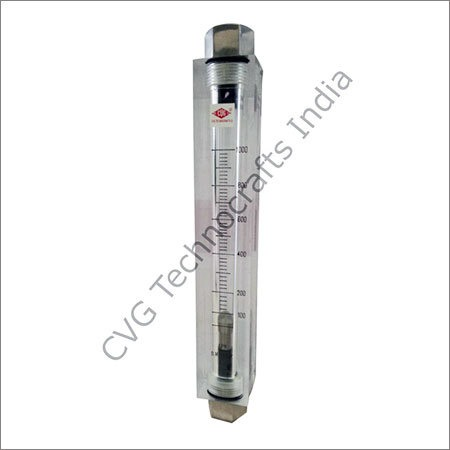 Solid Acrylic Body Rotameter