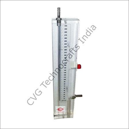 Acrylic Body Single Limb Manometer