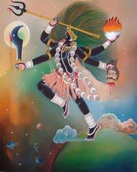 Maa Kali Painting