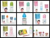 100% free BPA 5oz Baby Feeding Bottles