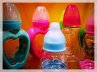 Transparent Silicone Baby Feeding Bottles