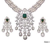 Designer Diamond Jewellery Set