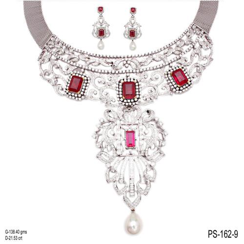 Bridal Diamond Jewellery Set