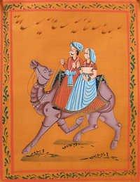 Dhola maru - Marwar Painting