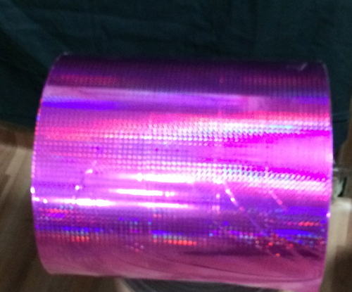 Colored Holographic Prism Film