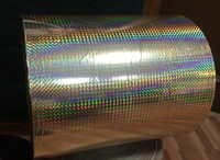 Gold Color Holographic Films