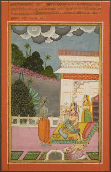 Krishna meet radha