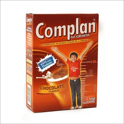 Complan Health Drinks Packaging: Box