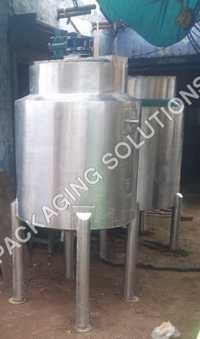 Sugar Syrup Preparation Tank