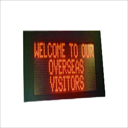 Outdoor LED Scrolling Display