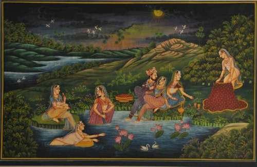 Mughal love sceen