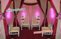 Indian Mandap Furniture Set
