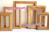 Wedding Stage Gold Photo Frame