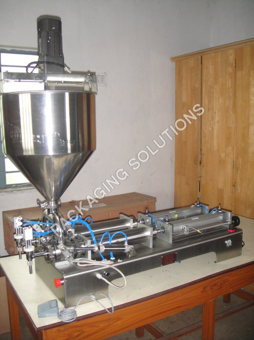Double Head Pneumatic Filler
