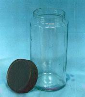 Specimen Jar with Plastic Caps