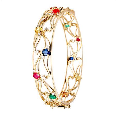 18k gold diamond bangle manufacturer
