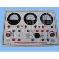 Triode Valve Characteristics Apparatus