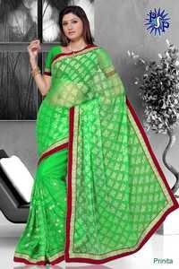 Traditional bandhej sarees